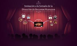 Invitación a la Jornada de la Dirección de Recursos Humanos