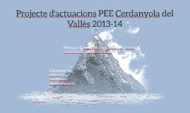 Projecte d'actuacions PEE Cerdanyola del Vallès