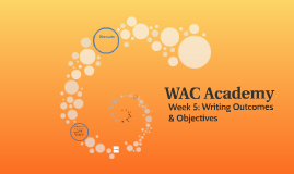 WAC Academy: Week 5