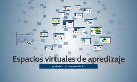 Espacios virtuales de apredizaje