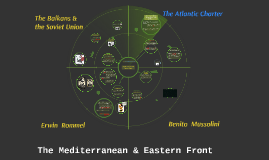 Mediterranean and Eastern Front.