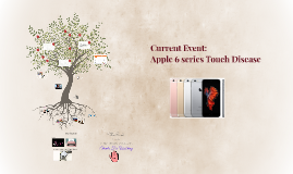 Current event: Apple 6