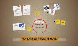 The NSA and Social Media