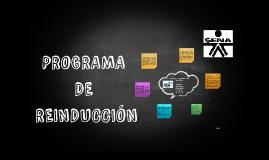 PROGRAMA DE REINDUCCIÓN