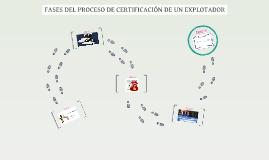 FASES DEL PROCESO DE CERTIFICACIÓN