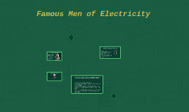 Famous Men of Electricity