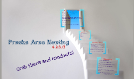 4.23 Area Meeting