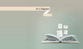 ELA Fluency - Elementary