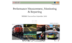 Performance Measurement, Monitoring