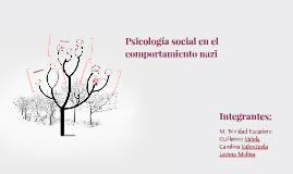 Psicología social en el comportamiento nazi