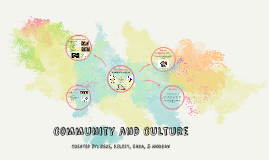 Community and Culture: Schools and Society