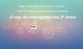 O uso do videogame