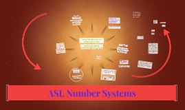 ASL Number Systems #1