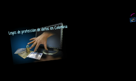 Copy of Copy of Copy of Ley de Protección de Datos