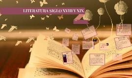 Copy of LITERATURA SIGLO XVIII