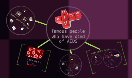 People who died of AIDS