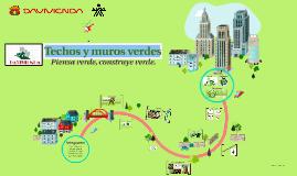 Copy of Techos y muros verdes