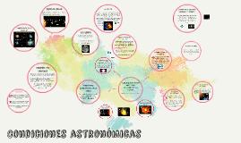 Bloque II. Explicas las condiciones astronomicas del planeta