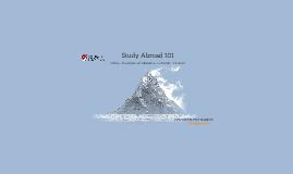 Study Abroad 101 (17-18)