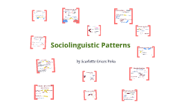 Sociolinguistic Patterns