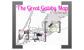 The Great Gatsby Map