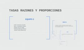 Copy of TASAS RAZONES Y PROPORCIONES