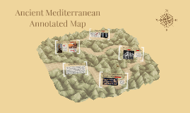 Ancient Mediterranean Annotated Map