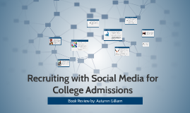 Recruiting with Social Media for College Admissions