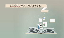 LECTURAS DEL ALFREDO KRAUS