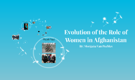 Evolution of the Role of Women in Afghanistan