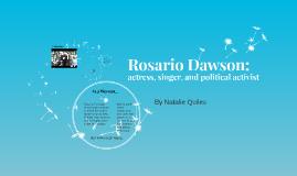 Rosario Dawson: