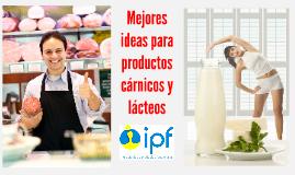 Mejores ideas para productos cárnicos y lácteos
