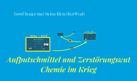 Copy of Chemie im Krieg