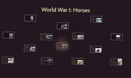 World War I: Horses