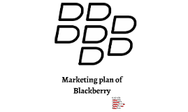 Copy of Marketing plan of Blackberry