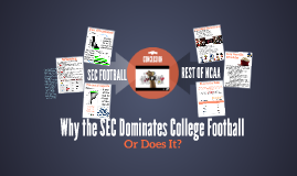 College Football Dominance SWJCS