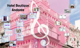 Copy of Hotel Boutique Andante