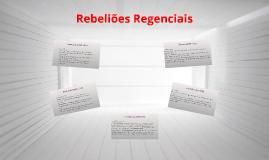 Rebeliões Regenciais
