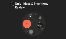 Unit 1 Ideas & Inventions Review