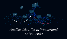Analiza dela Alice in Wonderland