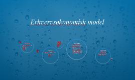 Erhvervsøkonomisk model