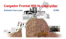 Cargador Frontal 950 H, Caterpillar