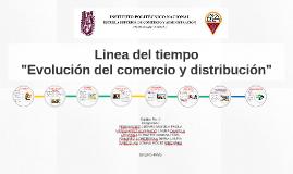 Copy of Linea del tiempo de la evolución del comercio y distribución