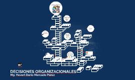 Decisiones Organizacionales