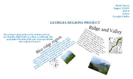 Copy of GEORGIA STUDIES REGIONS PROJECT