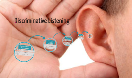 Copy of Discriminative Listening