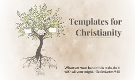 Templates for Christianity