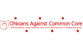 Who is Ohioans Against Common Core?