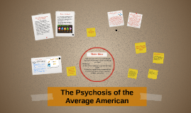 The Psychosis of the Average American