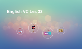 English VC Les 33